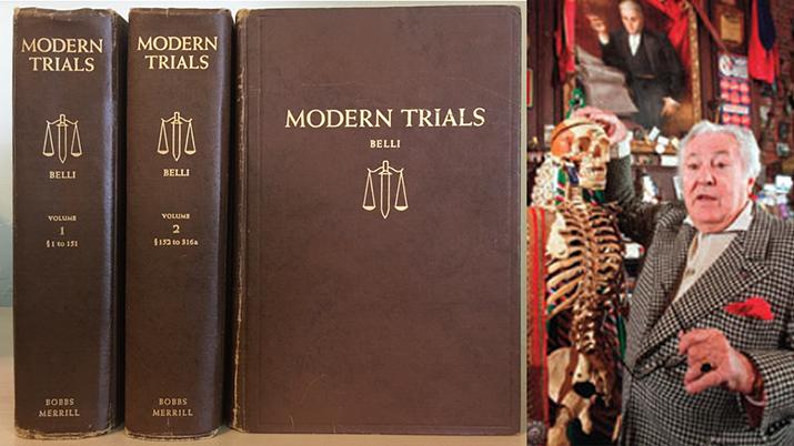 "Melvin Belli wrote ""Modern Trials"" in 1954"